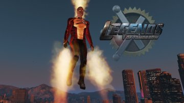 Firestorm (Legends of Tomorrow) [Add-On Ped]