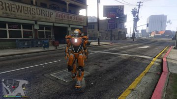 Iron Man Mark 36 Peacemaker [Add-On Ped] - GTA5