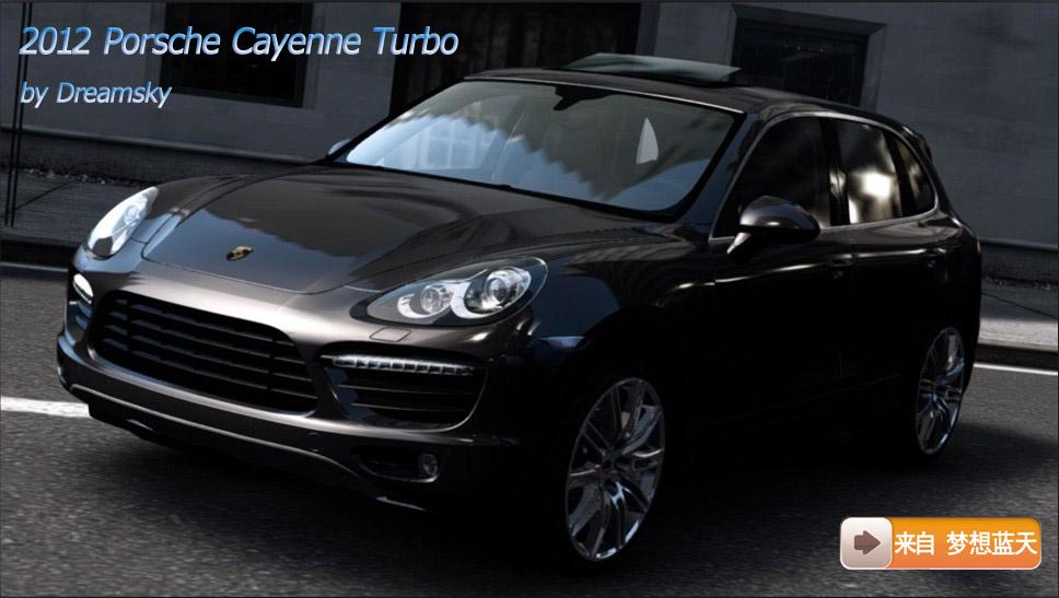 Porsche Cayenne Turbo 2012 Vehicules Pour GTA IV Sur GTA
