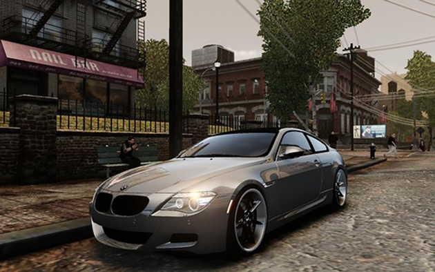 BMW M6 Coupe E63 - GTA4