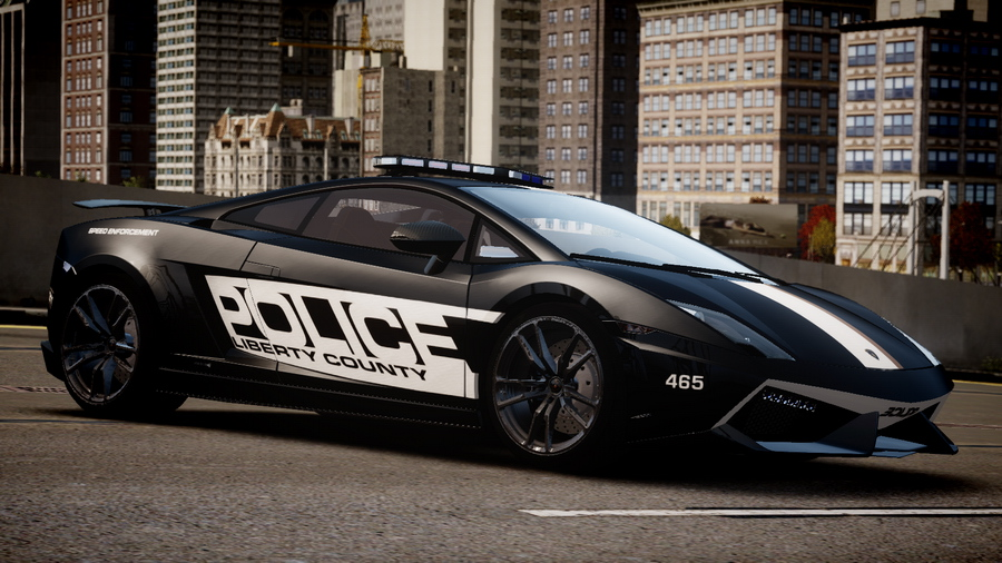 Lamborghini Gallardo Lp570 4 Superleggera Police