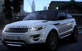 Land Rover Range Rover Evoque - GTA4