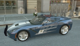 Corvette C7 Stingray Police - GTA4