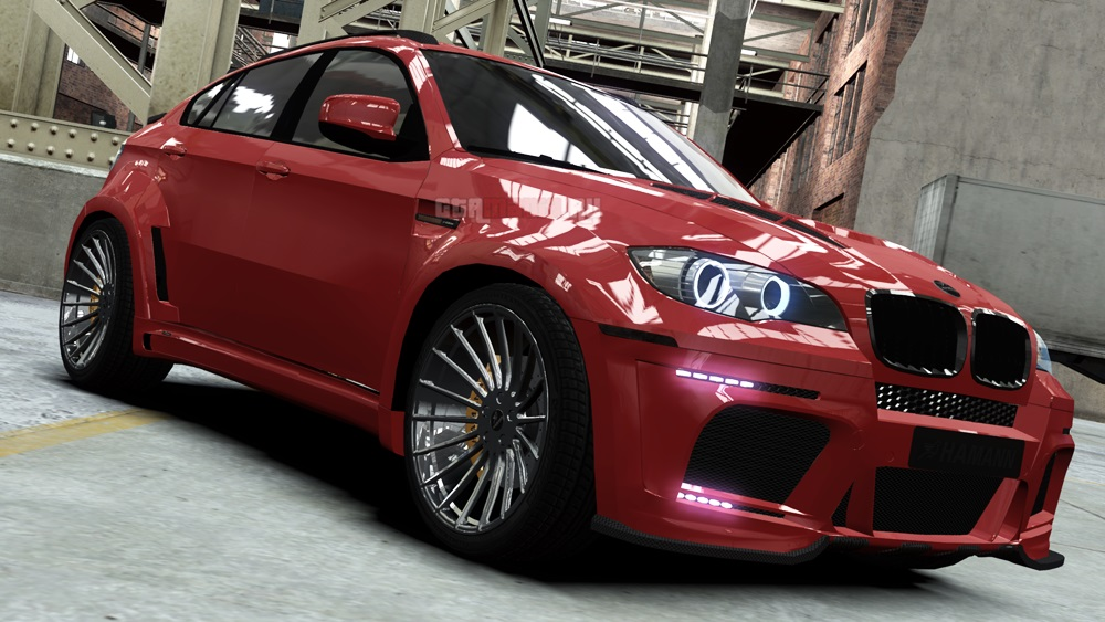 BMW X6 Hamann - GTA4