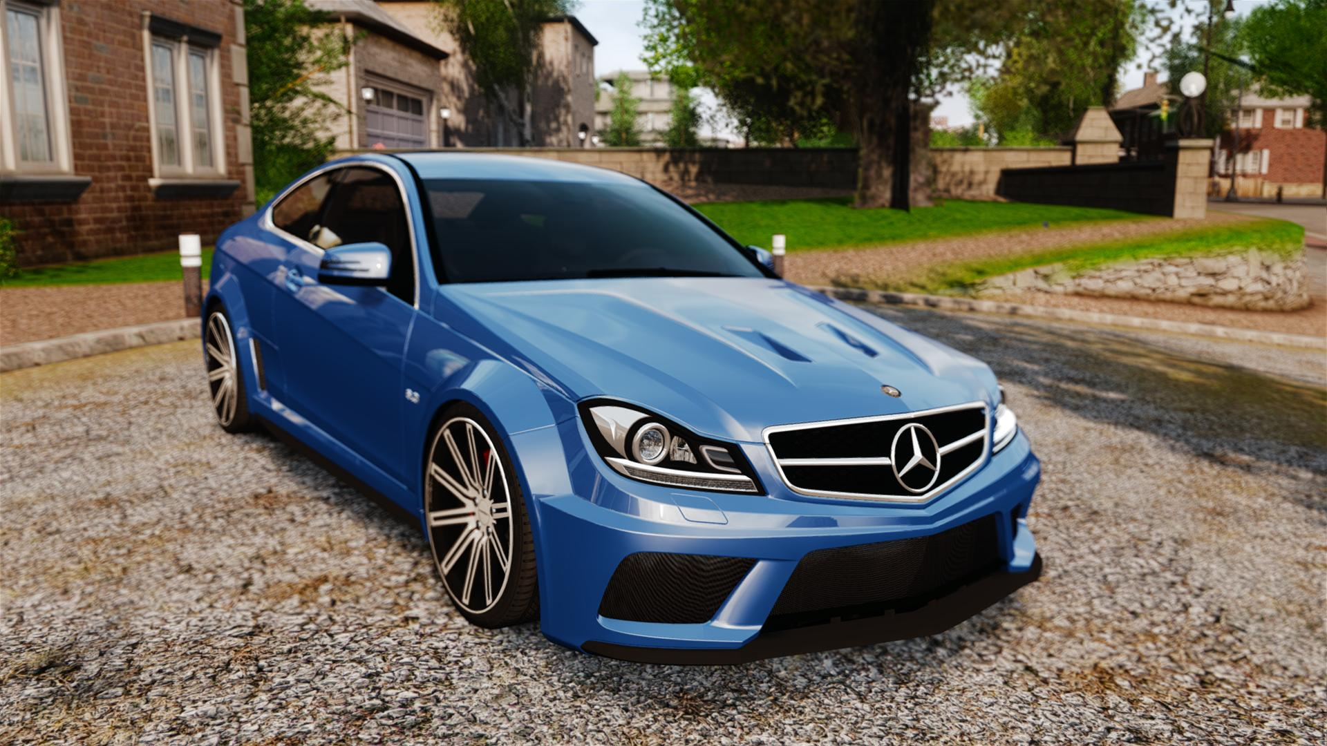 Mercedes-Benz C 63 AMG - GTA4