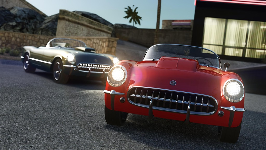 Chevrolet Corvette 1953 - GTA4