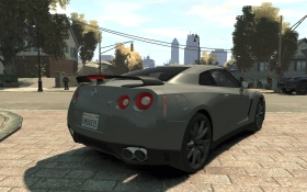 Nissan GT-R Black Edition - GTA4