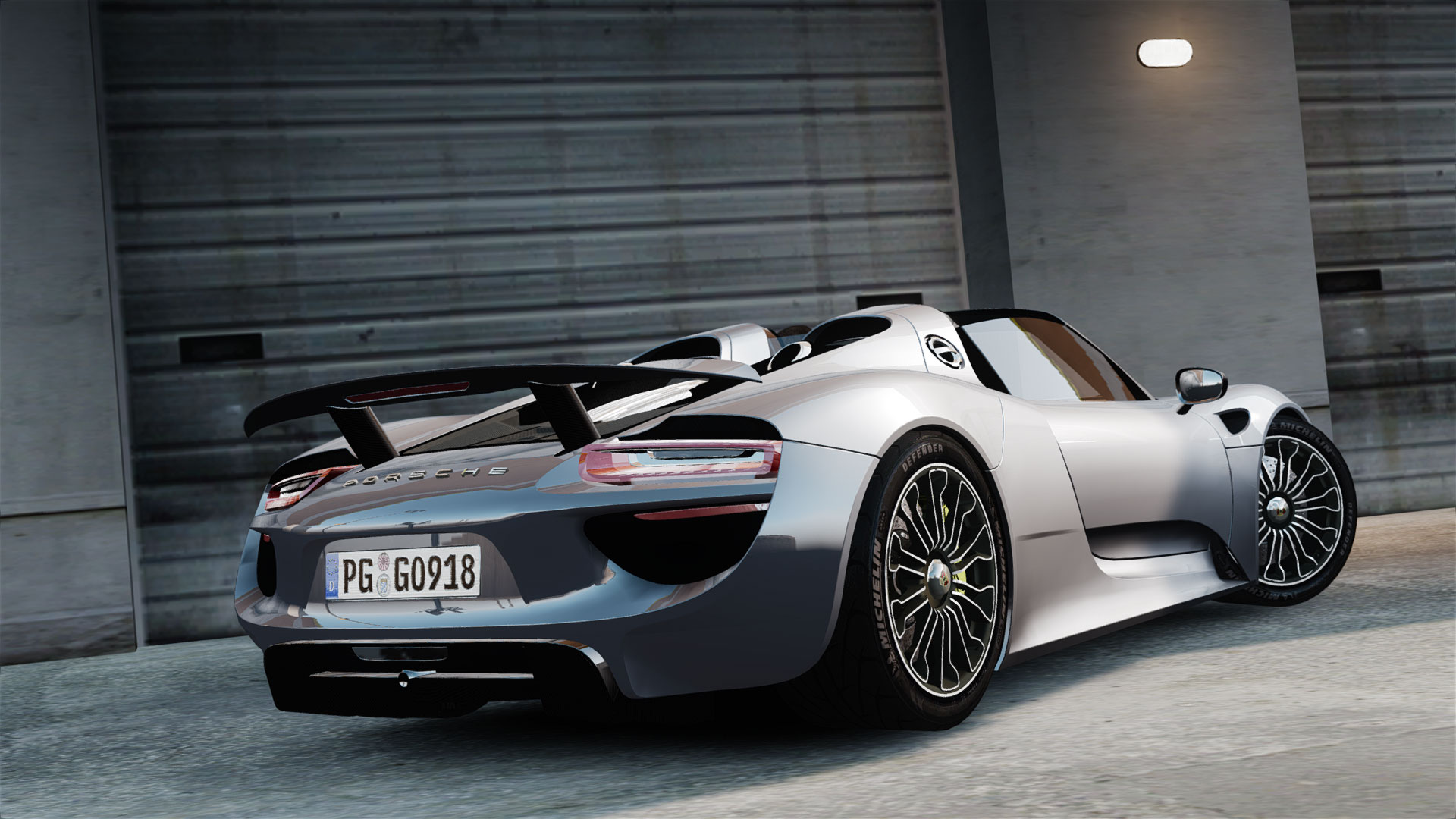 porsche 918 spyder 2015 vehicules pour gta iv sur gta. Black Bedroom Furniture Sets. Home Design Ideas