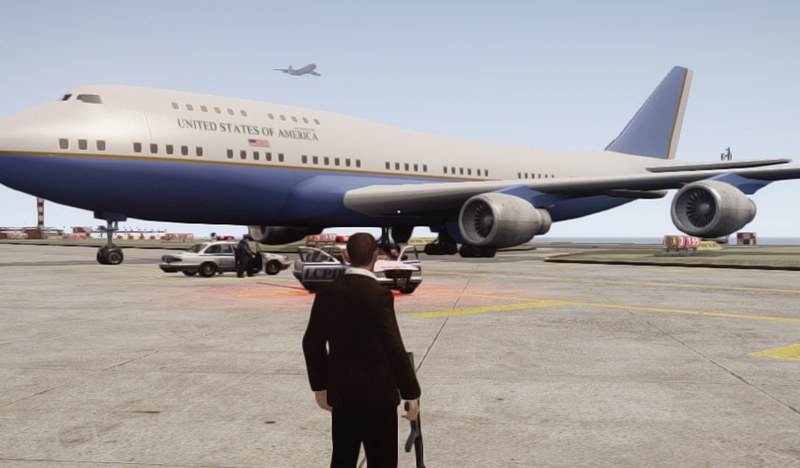 Air Force One - GTA4