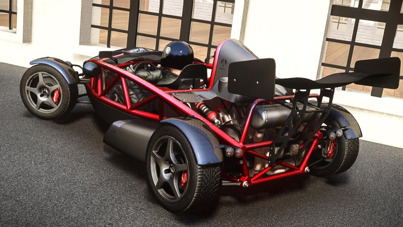 Ariel atom v8 2010 vehicules pour gta iv sur gta modding - Voiture ariel atom ...