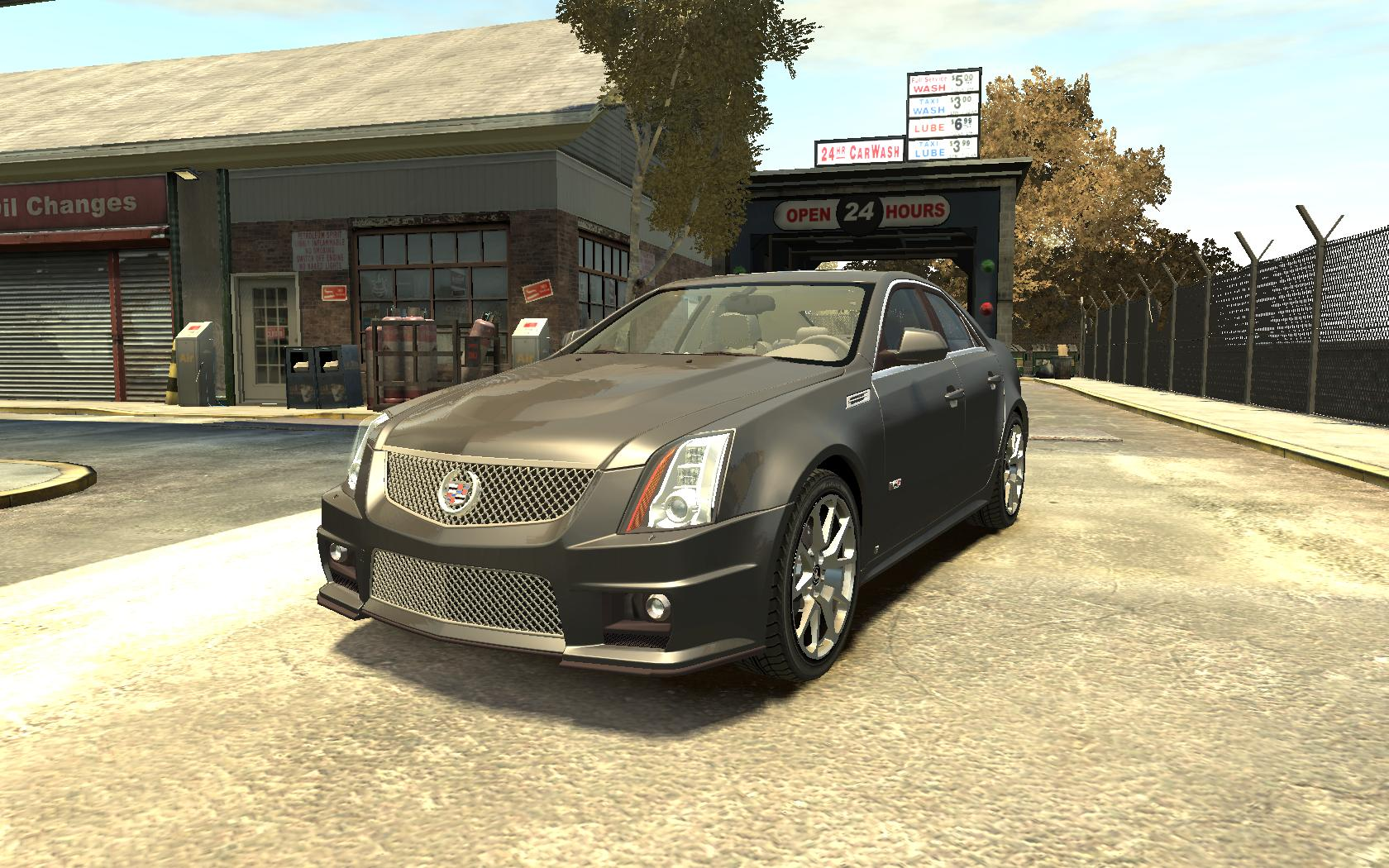 cadillac cts v 2009 vehicules pour gta iv sur gta modding. Black Bedroom Furniture Sets. Home Design Ideas
