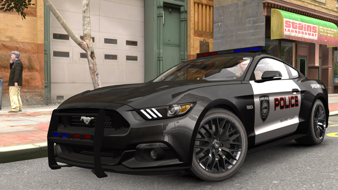 Ford Mustang GT Police 2015 - GTA4