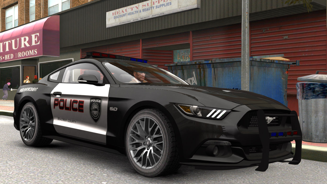 Ford Mustang Gt Police 2015 Vehicules Pour Gta Iv Sur