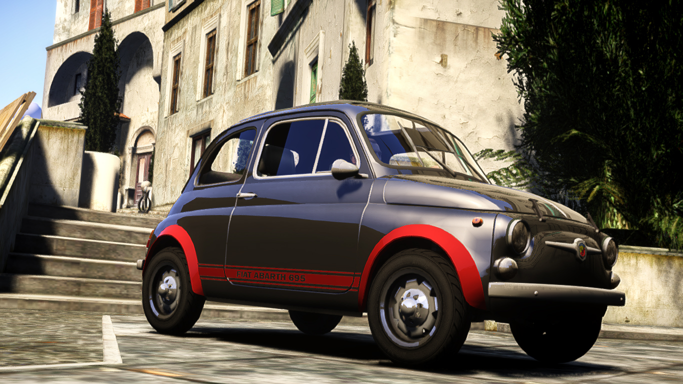 fiat abarth 695 ss assetto corse vehicules pour gta iv sur gta modding. Black Bedroom Furniture Sets. Home Design Ideas