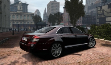 Mercedes Benz S600 w221 - GTA4