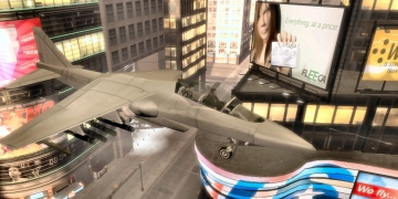 Liberty City Air Force Jet - GTA4