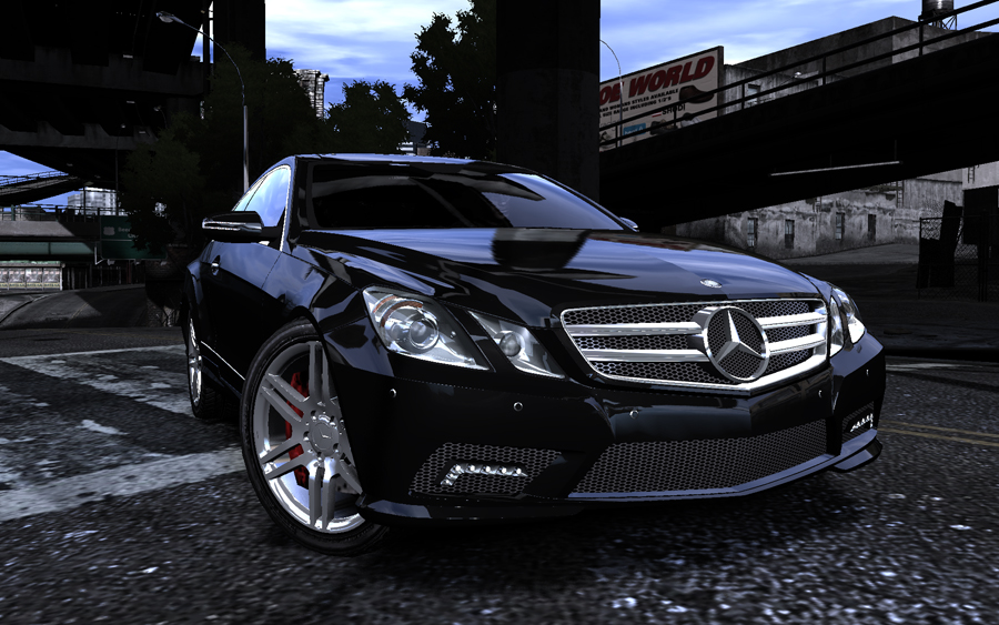 Mercedes-Benz E500 Coupé - GTA4