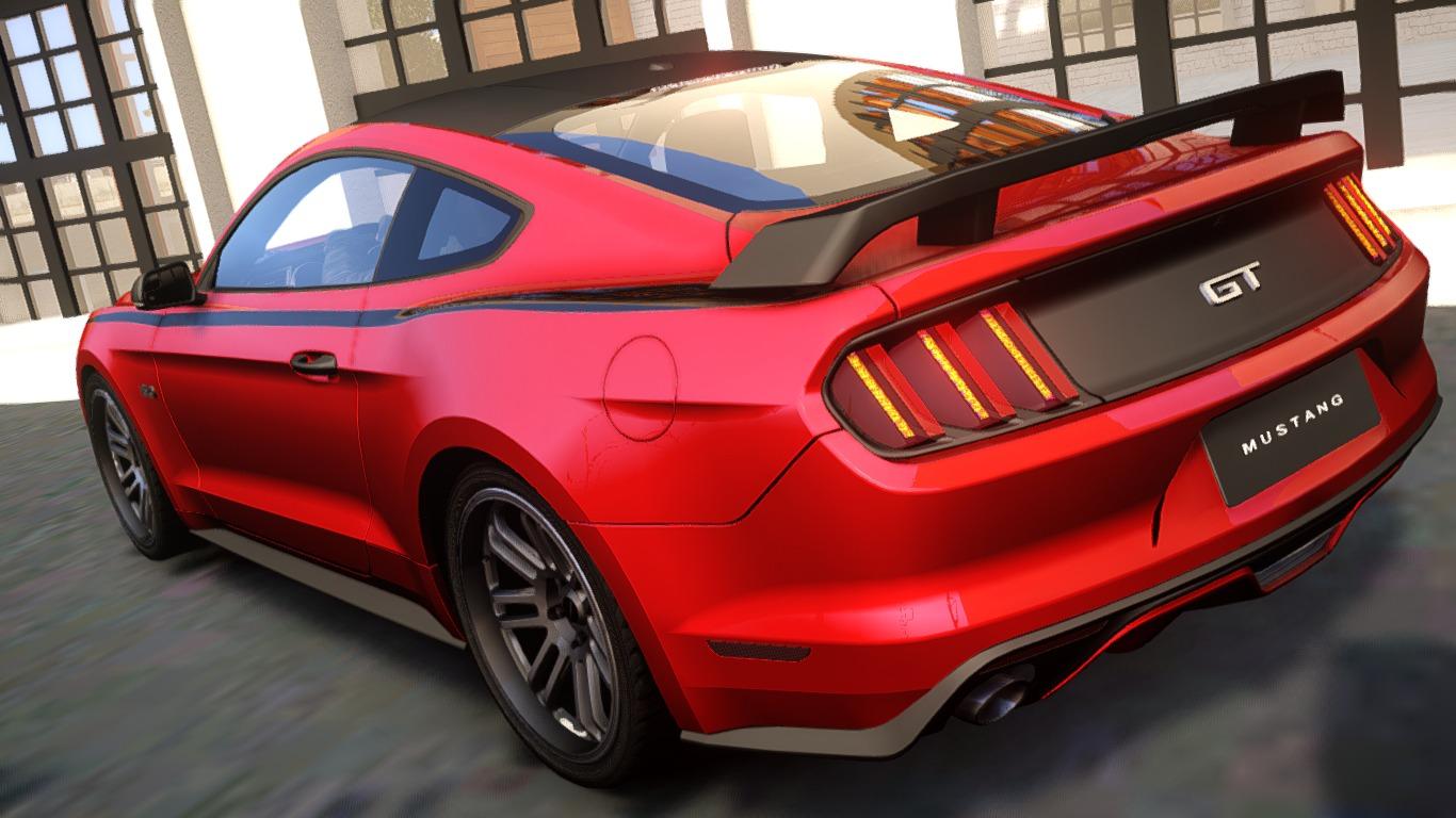 Ford Mustang Gt 2015 Custom Kit Vehicules Pour Gta Iv Sur Gta Modding