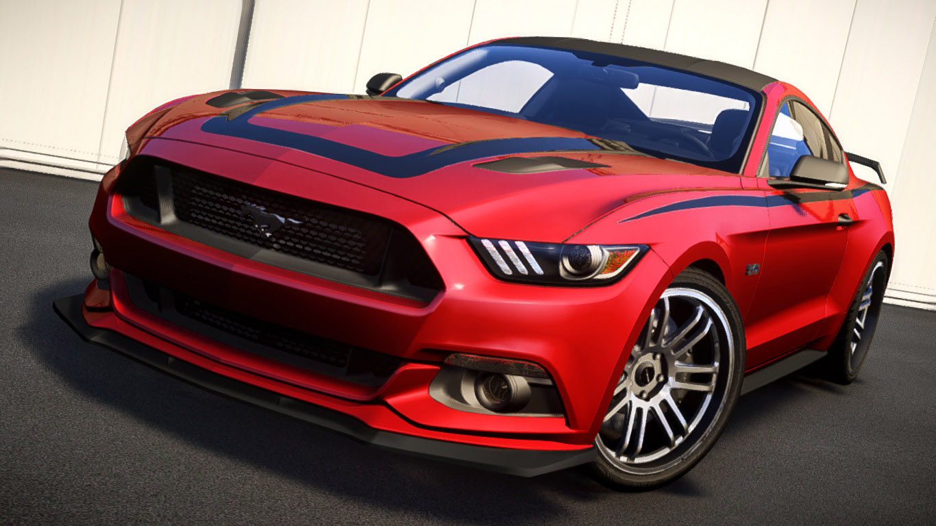 Ford Mustang GT 2015 Custom Kit - GTA4