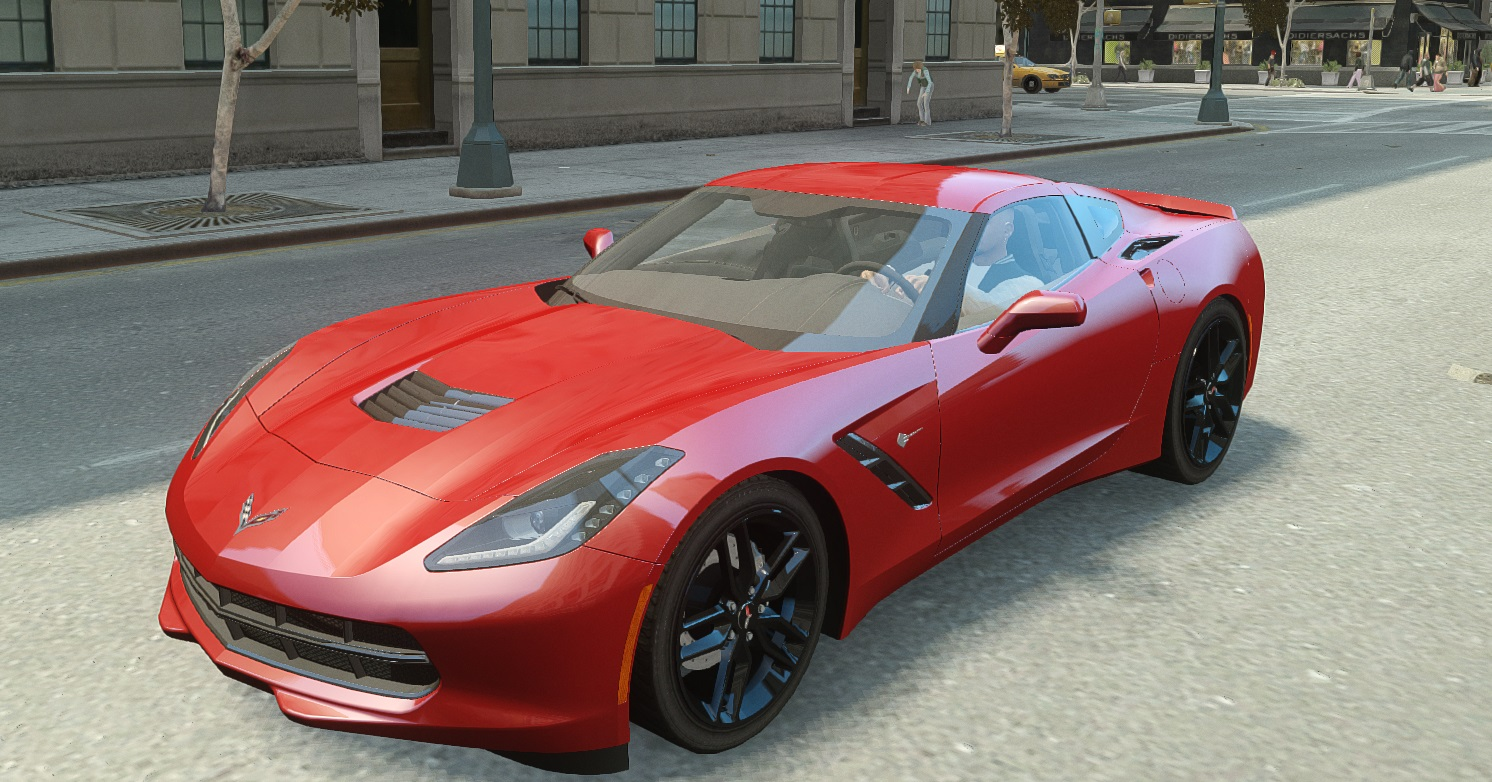 Corvette C7 Stingray 2014 - GTA4