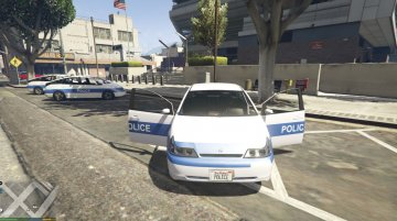 French Texture Police V1 - GTA5