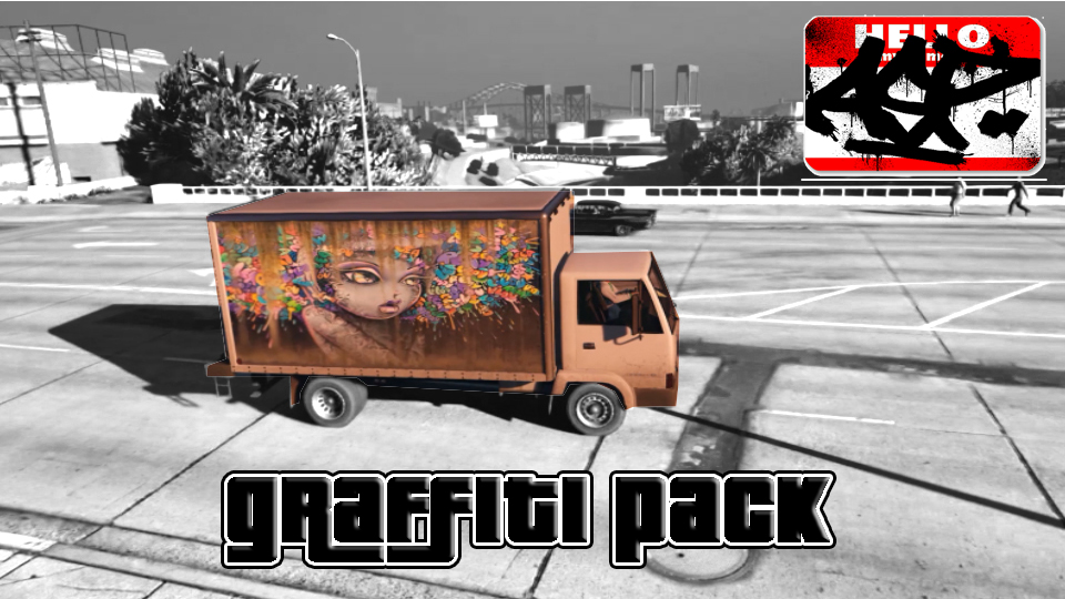 Graffiti Texture Pack (Mule) - GTA5