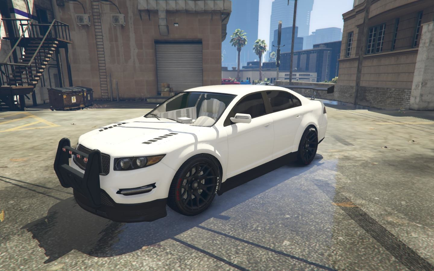 Police civilian car vehicules pour gta v sur gta modding for Voiture garage gta 5