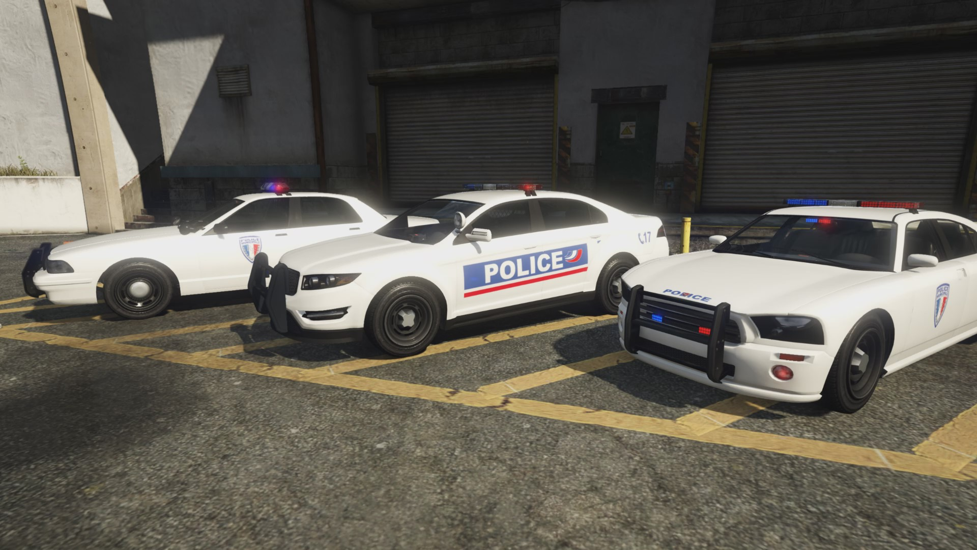french police texture pack vehicules pour gta v sur gta modding. Black Bedroom Furniture Sets. Home Design Ideas