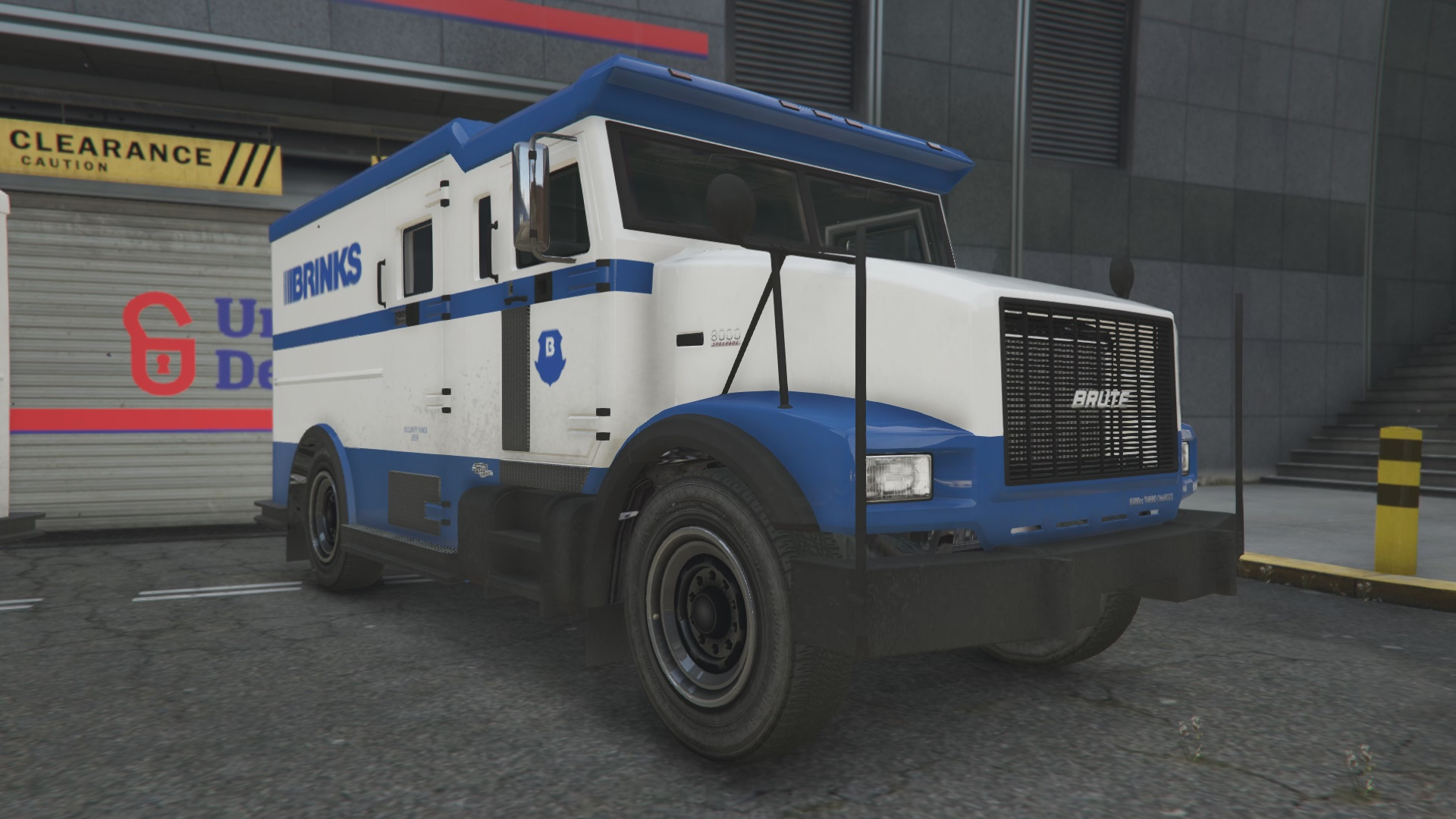 texture camion de la brink 39 s vehicules pour gta v sur gta modding. Black Bedroom Furniture Sets. Home Design Ideas
