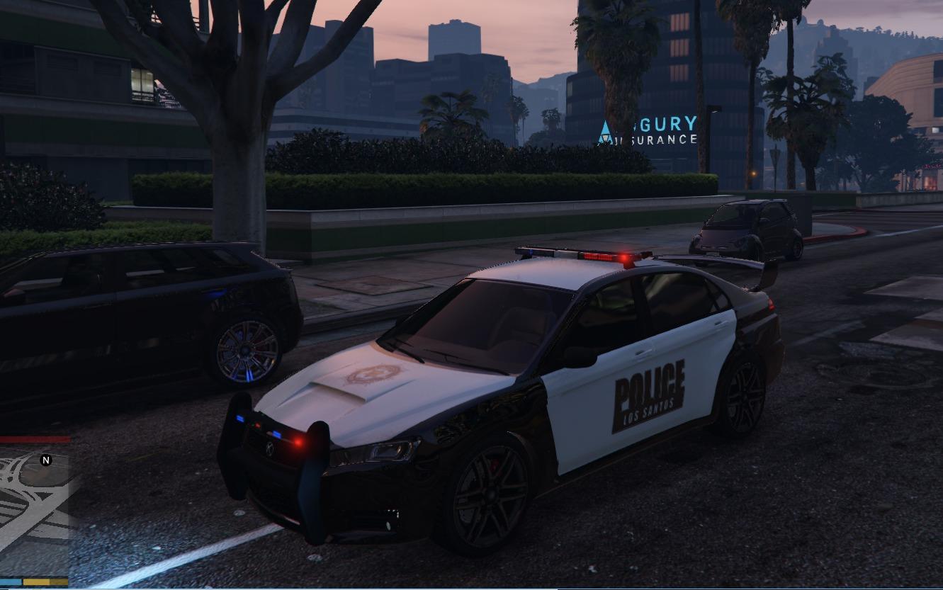 Police Kuruma Vehicules Pour Gta V Sur Gta Modding