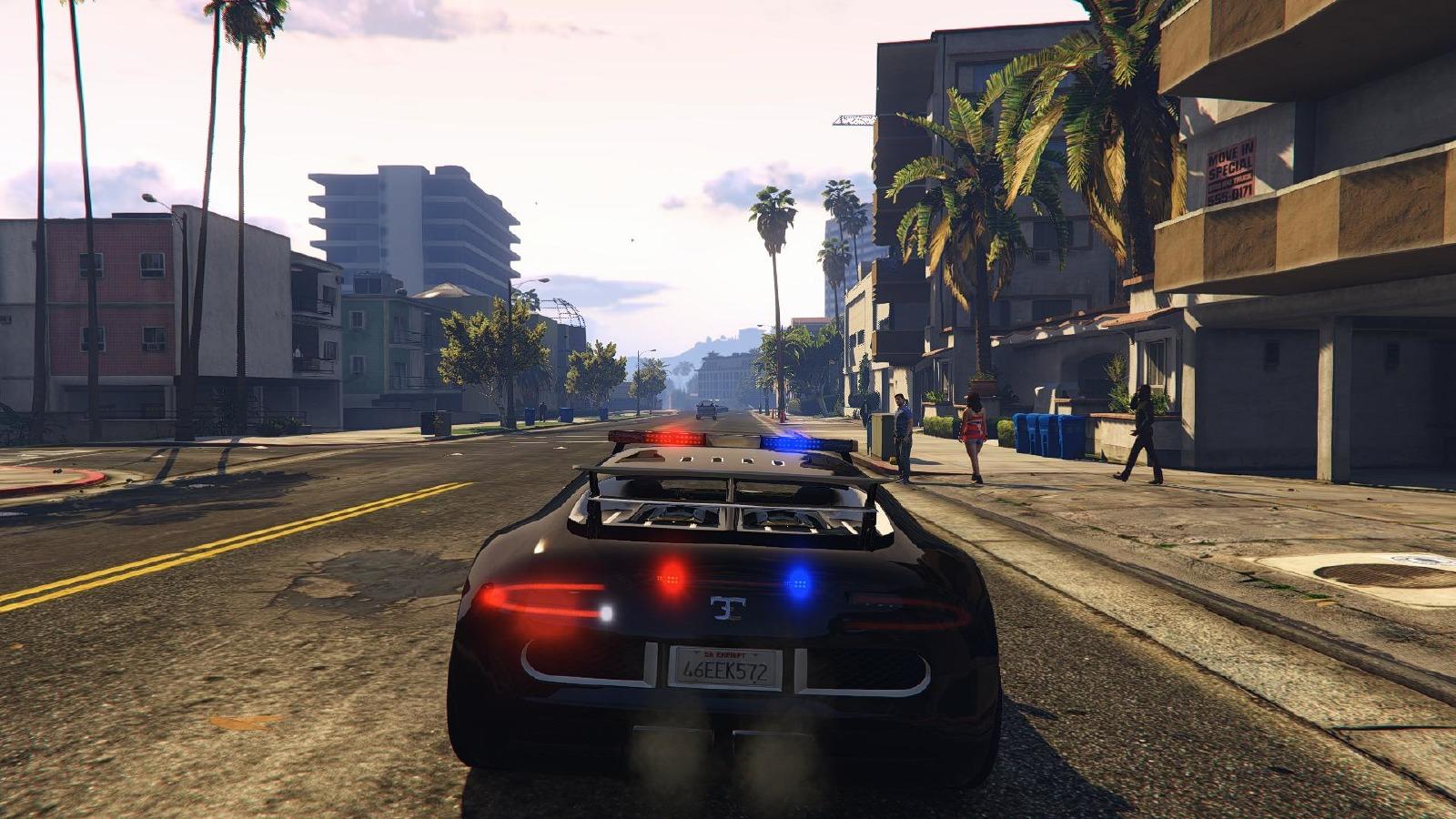 Bugatti Adder Police Lspd Vehicules Pour Gta V Sur
