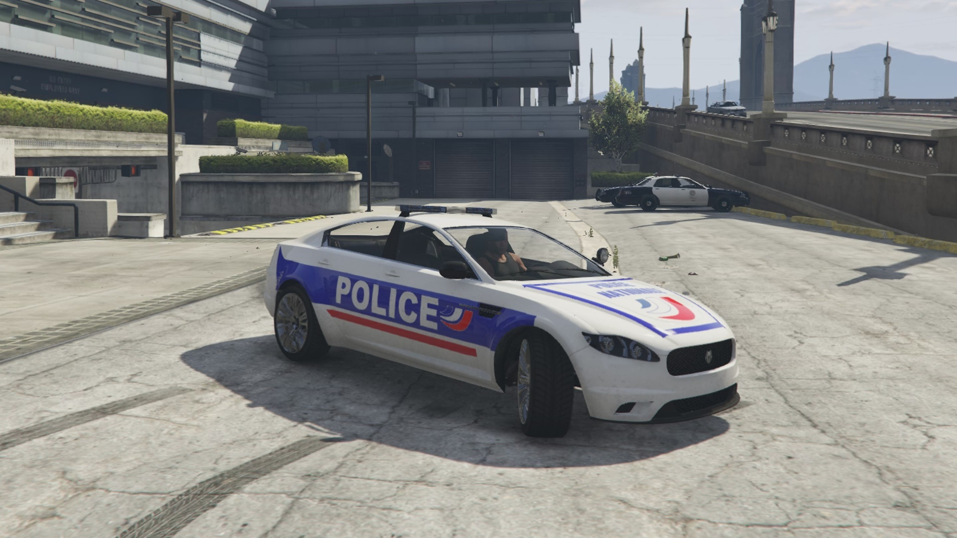 Jackal de la police nationale alpha version vehicules for Voiture garage gta 5