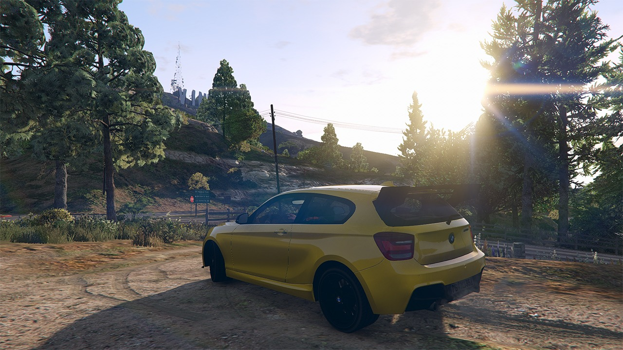 bmw m135i 2013 vehicules pour gta v sur gta modding. Black Bedroom Furniture Sets. Home Design Ideas