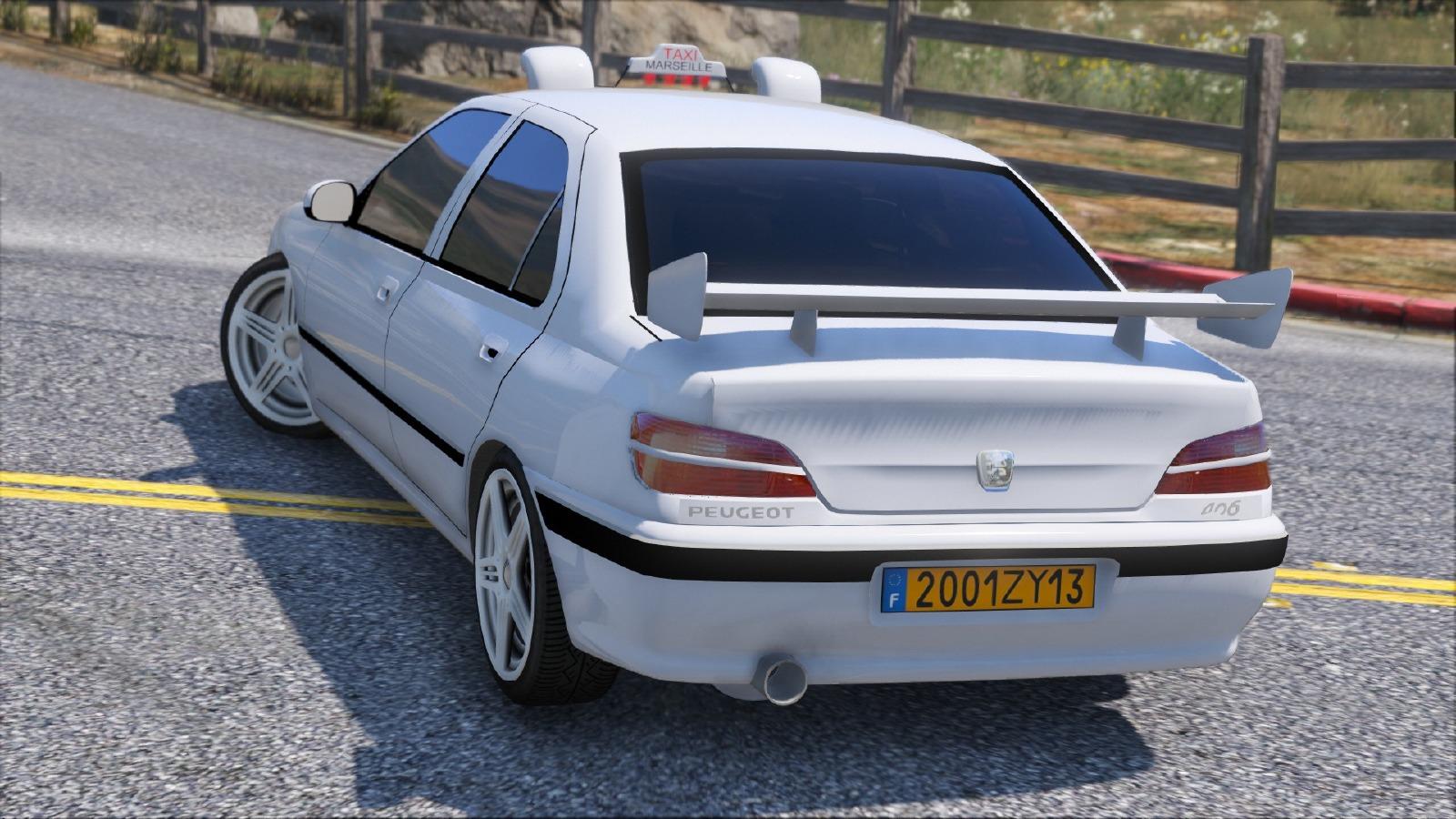 Peugeot 406 Taxi Vehicules Pour Gta V Sur Gta Modding