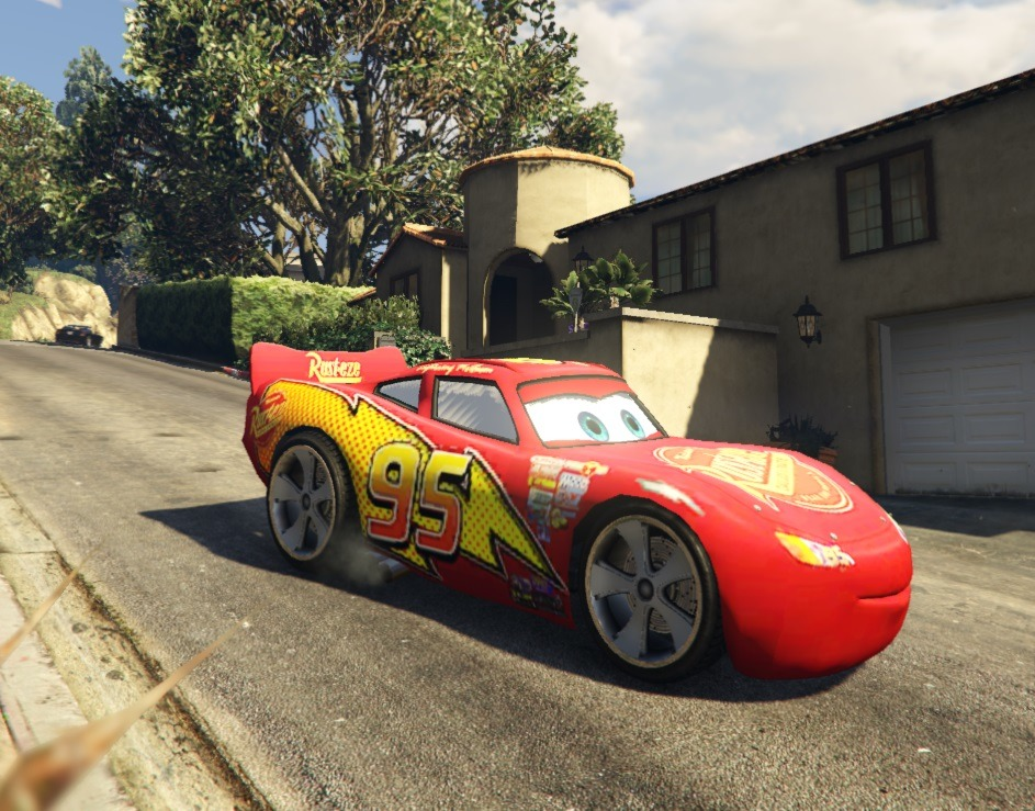 flash mcqueen vehicules pour gta v sur gta modding. Black Bedroom Furniture Sets. Home Design Ideas