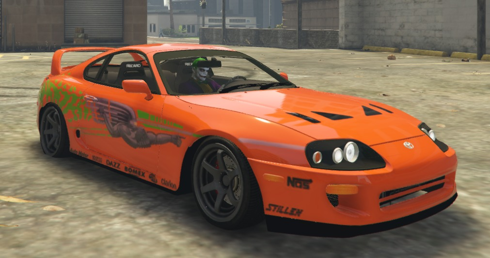 toyota supra paul walker fast and furious vehicules pour gta v sur gta modding. Black Bedroom Furniture Sets. Home Design Ideas