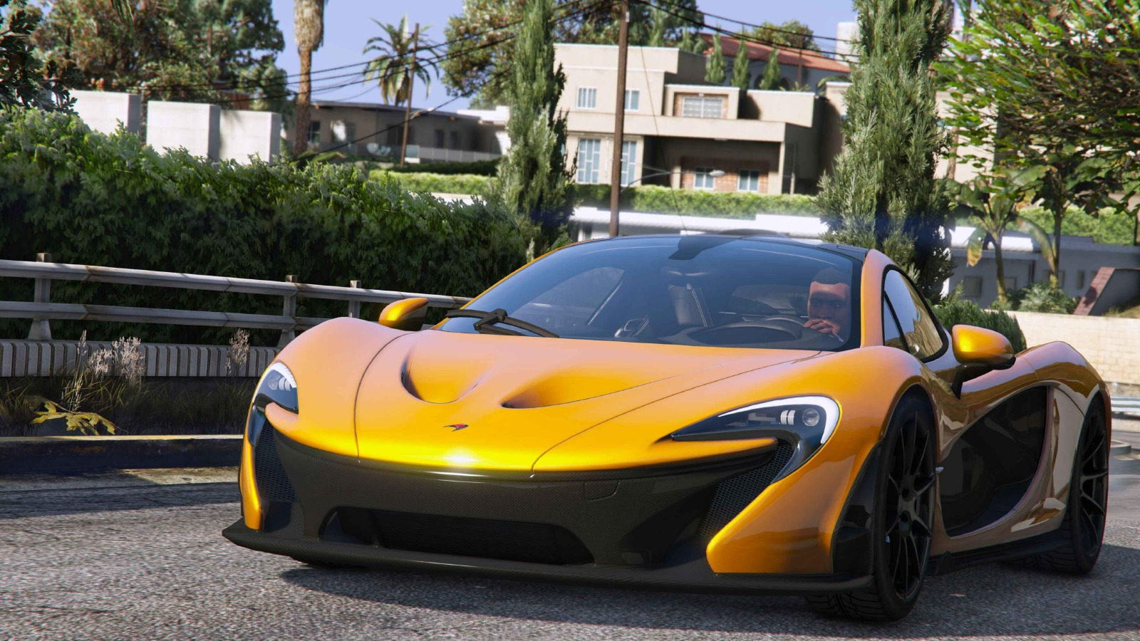 mclaren p1 2014 vehicules pour gta v sur gta modding. Black Bedroom Furniture Sets. Home Design Ideas