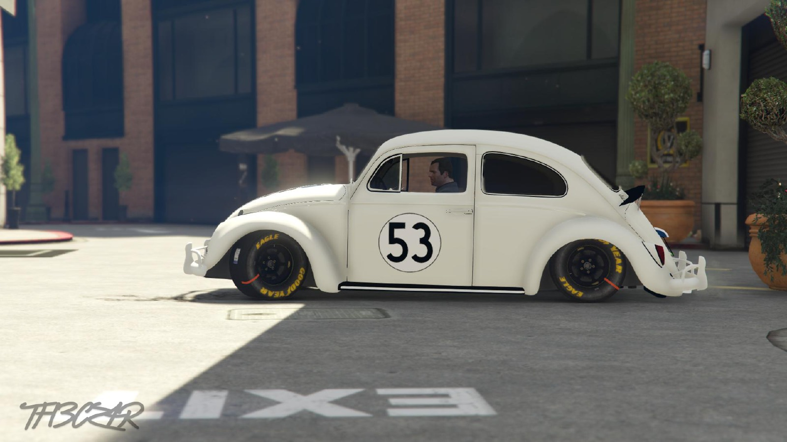 Herbie Coccinelle Fully Loaded Vehicules Pour Gta V