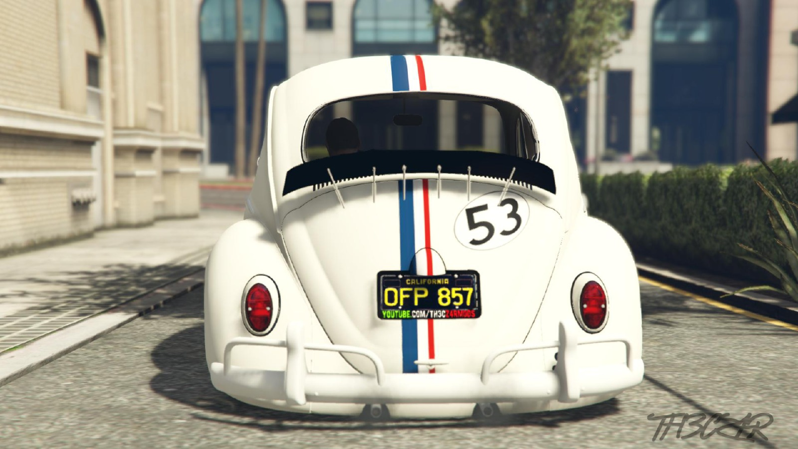Herbie (Coccinelle) Fully Loaded - Vehicules pour GTA V ...