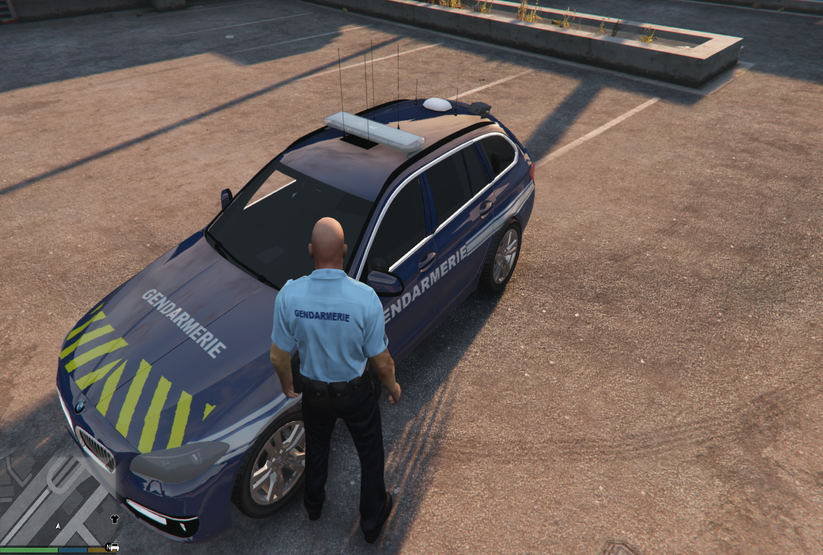 bmw gendarmerie vehicules pour gta v sur gta modding. Black Bedroom Furniture Sets. Home Design Ideas