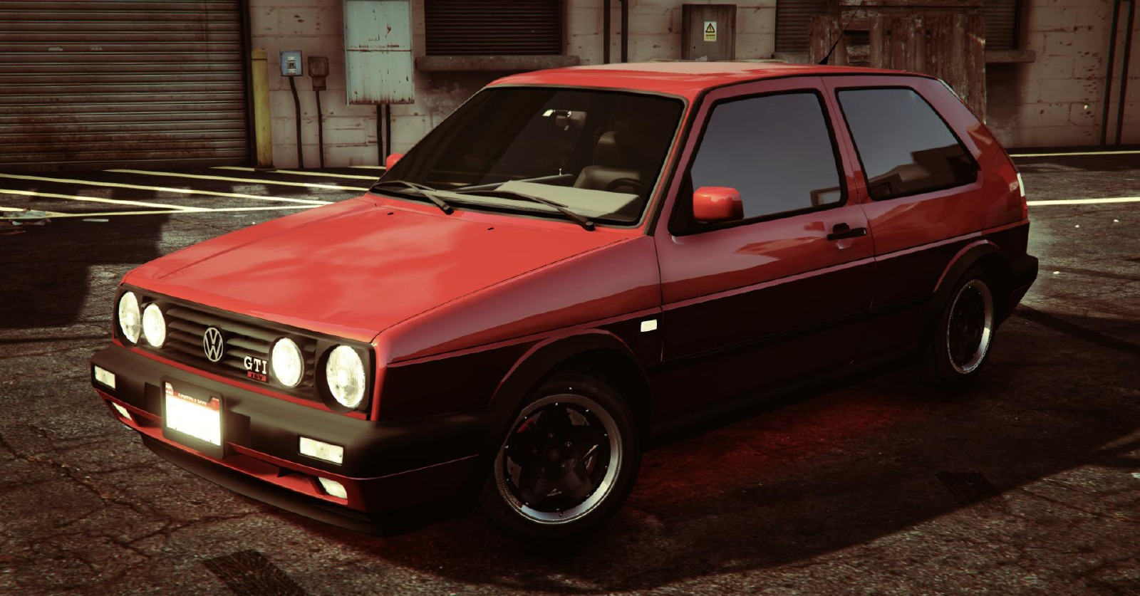 volkswagen golf mk2 vehicules pour gta v sur gta modding. Black Bedroom Furniture Sets. Home Design Ideas