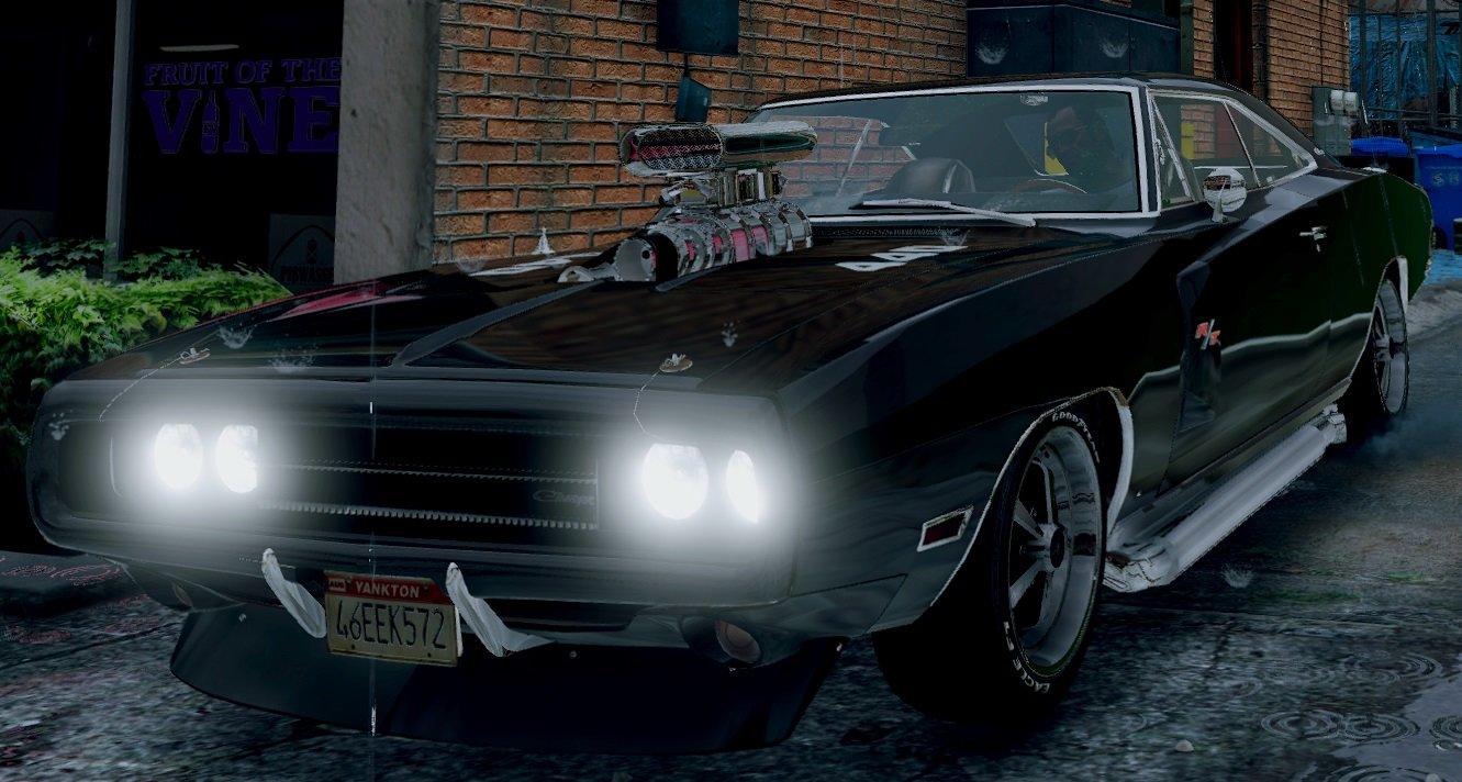 Dodge Charger R T Se 440 Magnum 1970 Vehicules Pour Gta