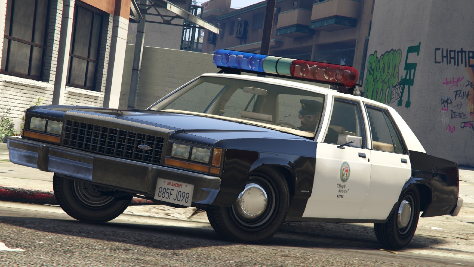 Ford Crown Victoria Ltd Lspd 1991 Caprice Amp 1987