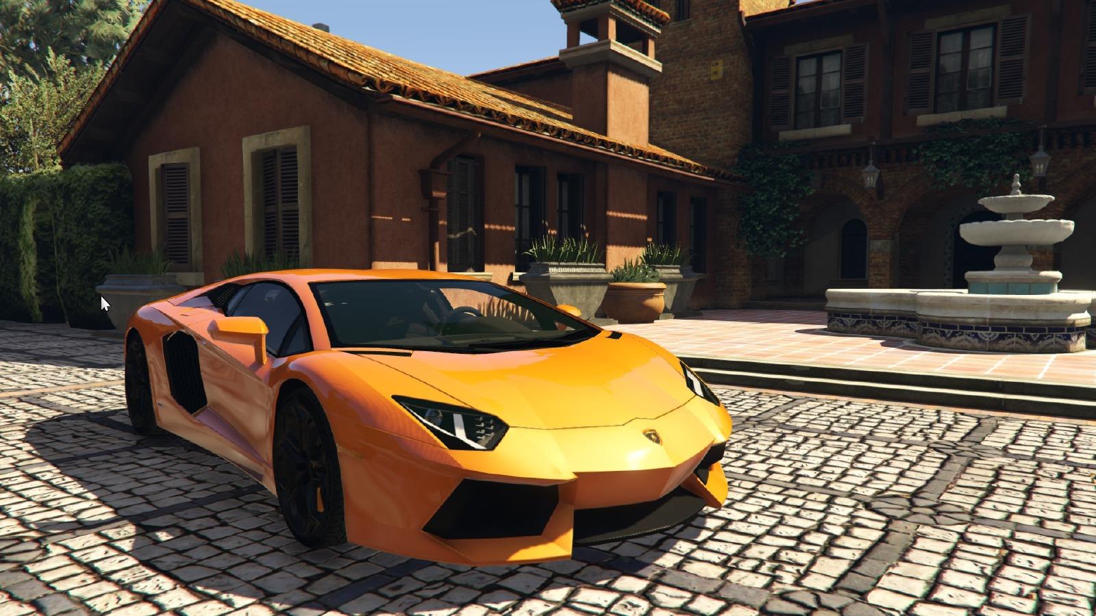 Lamborghini Aventador Lp700 4 2012 Vehicules Pour Gta V Sur Gta Modding