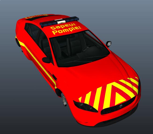 Texture V1 0 Vl Des Sapeurs Pompiers Vehicules Pour Gta