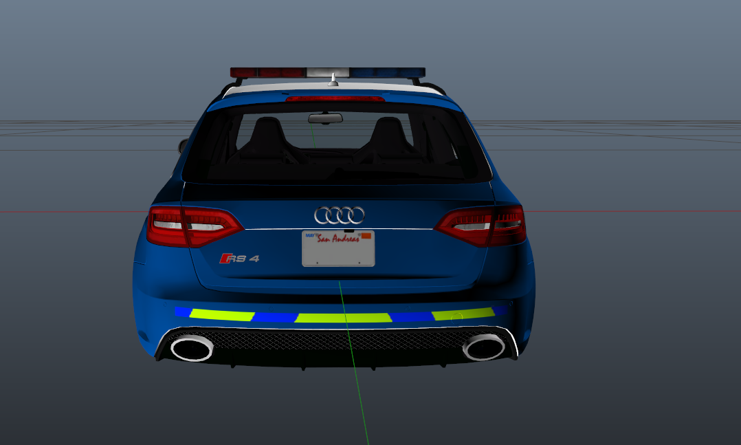 audi rs4 avant gendarmerie vehicules pour gta v sur gta modding. Black Bedroom Furniture Sets. Home Design Ideas