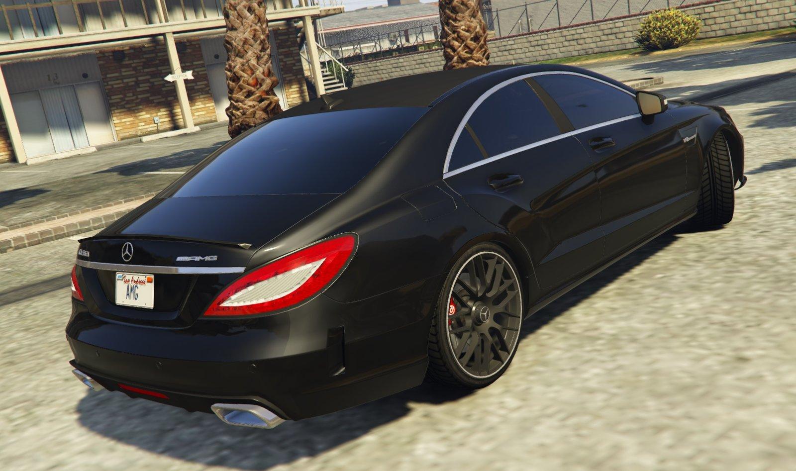 Mercedes-Benz CLS 6.3 AMG - Vehicules pour GTA V sur GTA ...