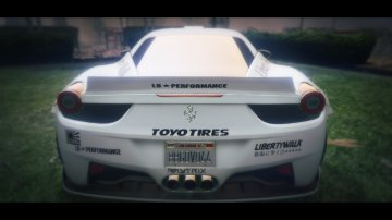 Ferrari 458 Italia Liberty Walk [HQ] - GTA5
