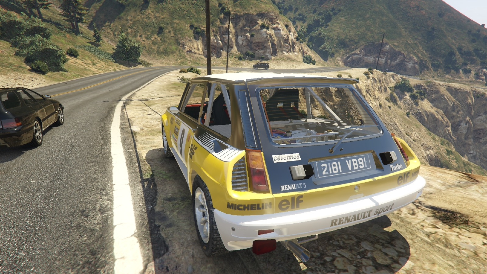 Renault 5 gt turbo rally vehicules pour gta v sur gta for Renault super 5 interieur