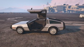 DMC-12 Delorean - GTA5